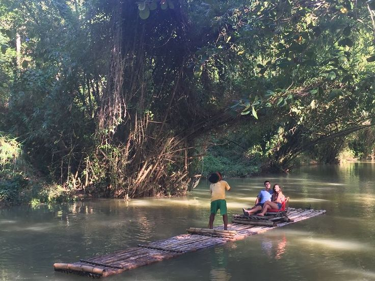 The Bachelor 2016 filmed at Martha Brae Rafting in Jamaica.