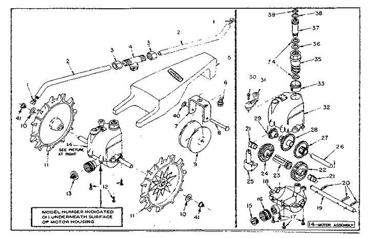Sears Craftsman traveling sprinkler model #56479009, parts diagram