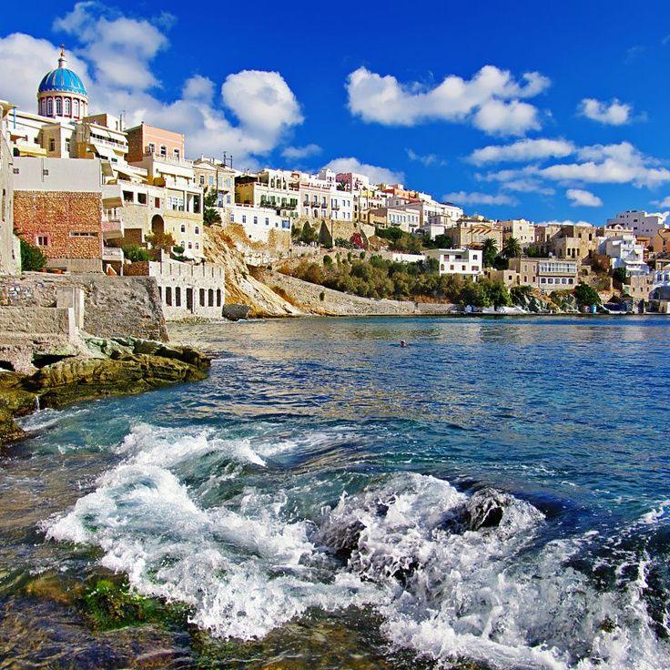 Fototapeta F2245 - Słoneczna wyspa Syros