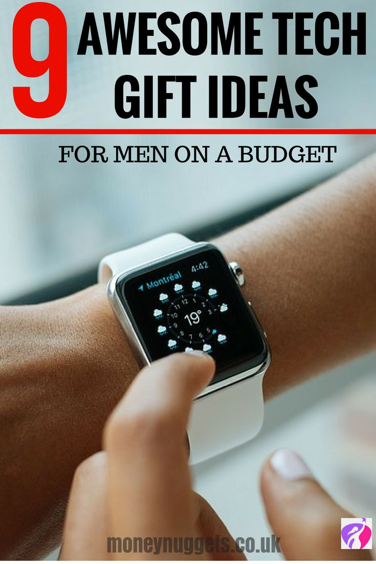 If you're wracking your brains on what to buy for the men in your life for Christmas, the stress is over! Here's a list of the best tech gift ideas for men.