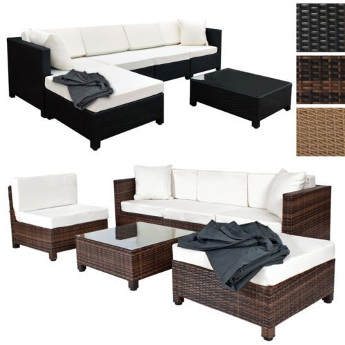 luxury rattan aluminium garden furniture sofa set outdoor new