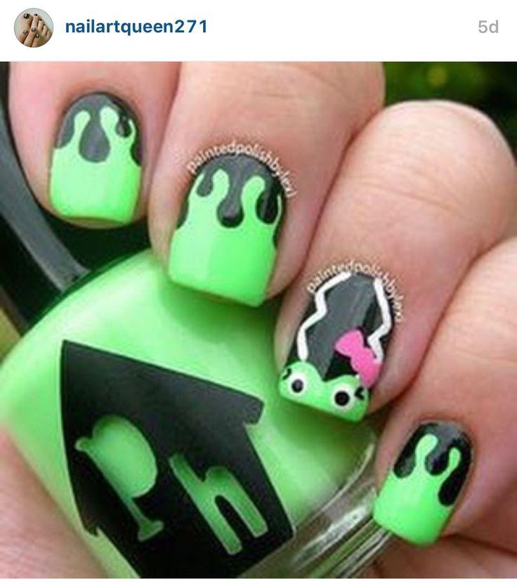 Mejores 115 imágenes de NAILS en Pinterest | Uñas bonitas, Diseño de ...