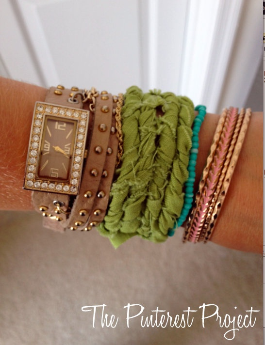 The Pinterest Project: Rope Bracelet