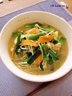 野菜たっぷりタンメン by ちわここ [クックパッド] 簡単おいしい ...
