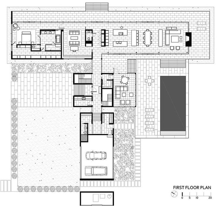 images about House Plans   General on Pinterest   Floor    Tred Avon River House by Robert M  Gurney Architect