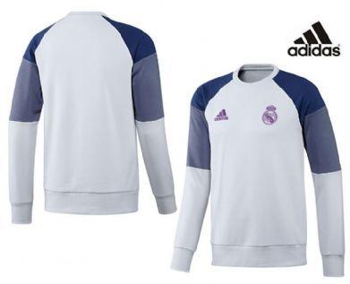 Sudadera blanca Real Madrid Adidas 2017 adulto