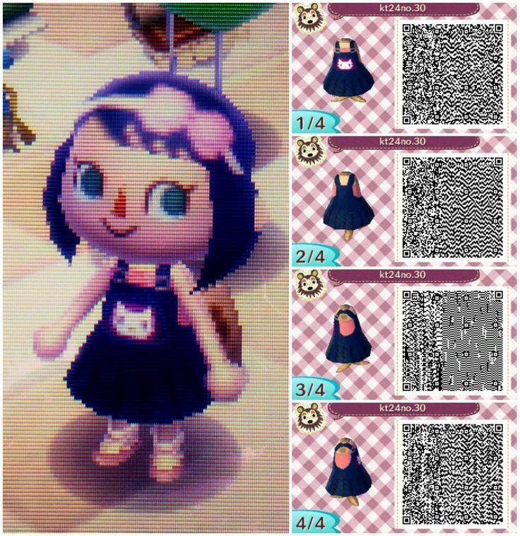 511 Best Acnl Wearables Images Outfits Animal In Acnl Flower Qr