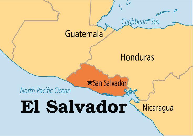 Pin By Emily Daly On Vida Y Muerte Pinterest Salvador El - North america map el salvador