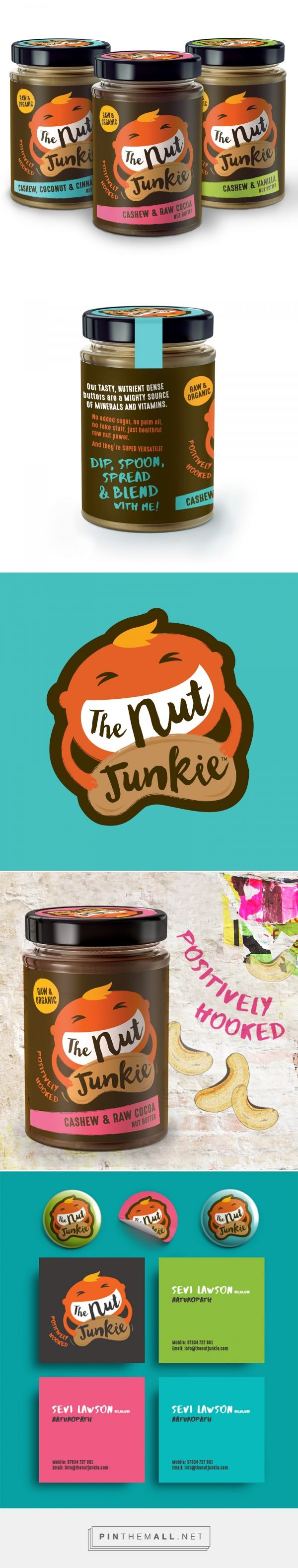 A Nutty Little Challenger packaging design by Family (and friends) Branding and Packaging Design - http://www.packagingoftheworld.com/2017/03/a-nutty-little-challenger.html