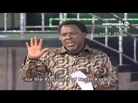 (31) NORTH KOREA WAR PROPHECY | Prophet TB Joshua - YouTube