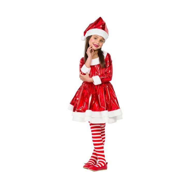 M s de 25 ideas incre bles sobre disfraz de mama noel en - Disfraz navideno nina ...