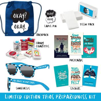 The #TFIOS Preparedness Kit is a brilliant idea for a fulfillment project that involves multiple custom pieces, packaged together for a great end-user product.