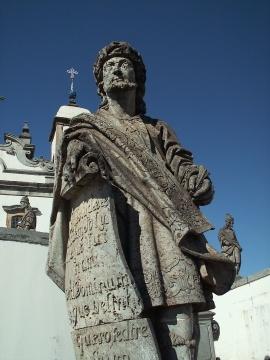 Profeta Jeremias - Escultura de Aleijadinho - Congonhas do Campo - Brasil
