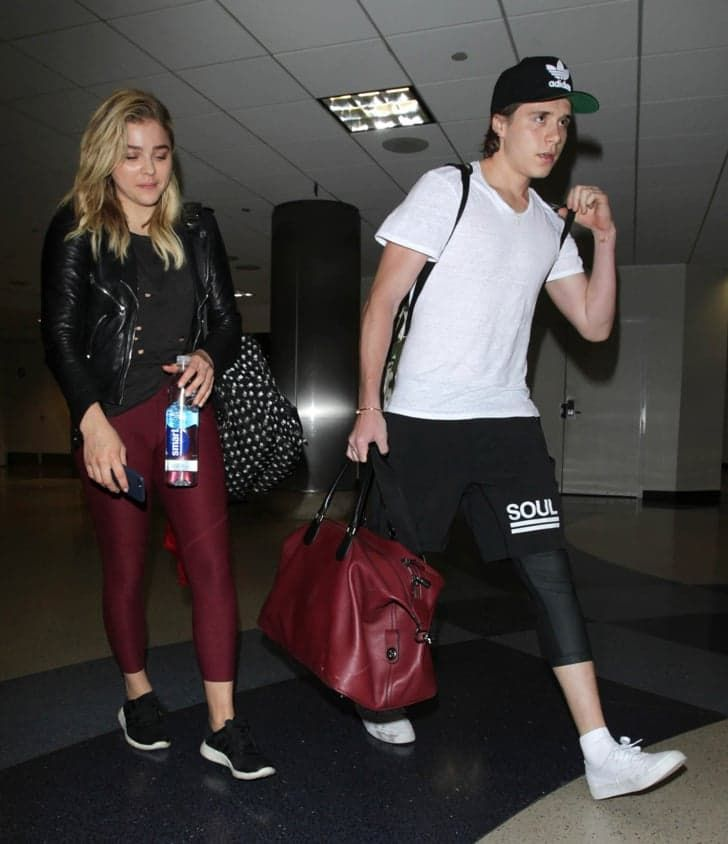 Pin for Later: Brooklyn Beckham Is the Ultimate Supportive Boyfriend During Chloë Grace Moretz's NYC Photo Shoot