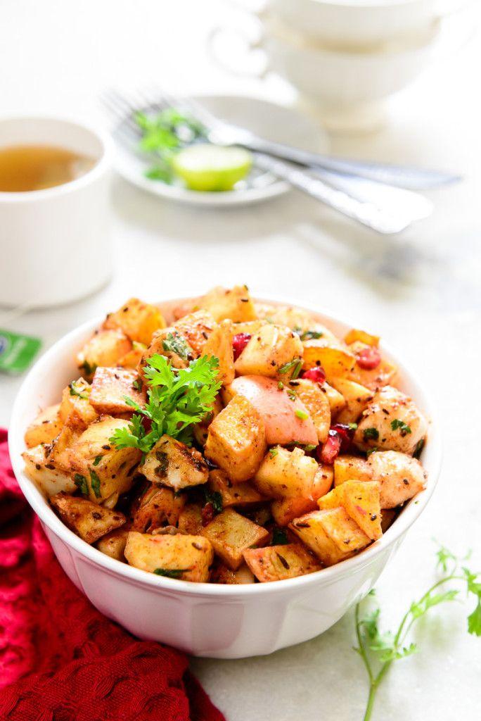 Delhi Style Fruit Chaat Recipe