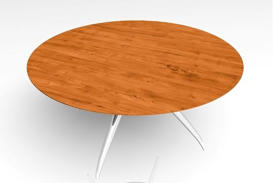 A 3D contemporary wood and metal table in FBX 3D model format that works with most 3D modeling software.