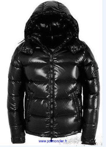 veste moncler homme noir