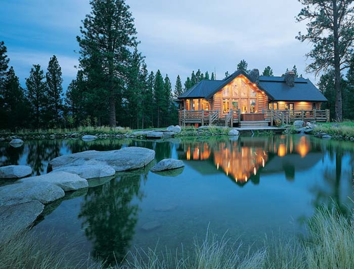 Rocky mountain log homes dream mountain home pinterest for Mountain dream homes