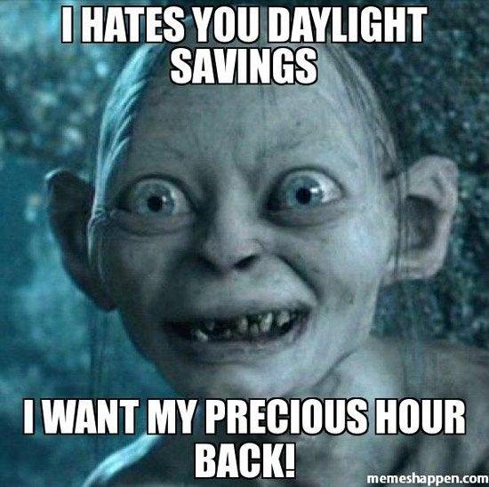 13 Hilarious Daylight Saving Time Memes - NoWayGirl