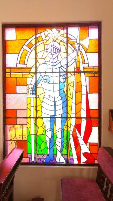 Vitral capilla Unisabana