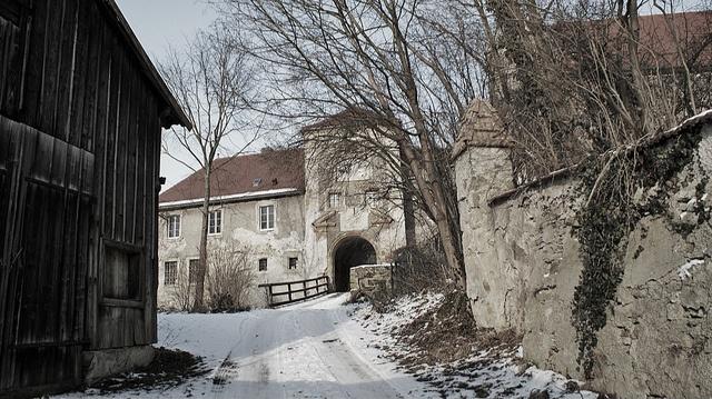 Schloss Fronberg in Schwandorf, Oberpfalz / Fronberg Castle in Schwandorf City, Oberpfalz