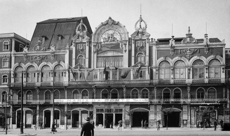 """Praça dos Restauradores, """"Eden Teatro"""", 1914"""