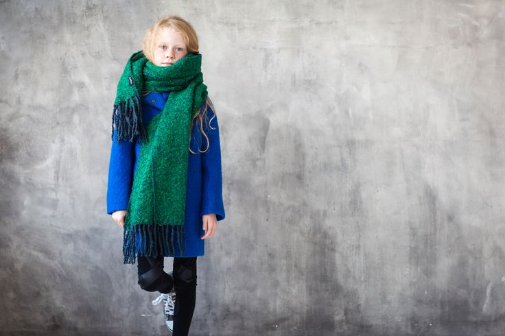 Zazou Miniature coat #kidsfashion #wintercollection #kidsbrand