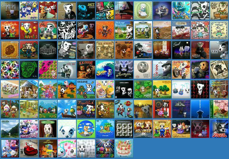 themcribbieone kk slider song album art album art animal crossing