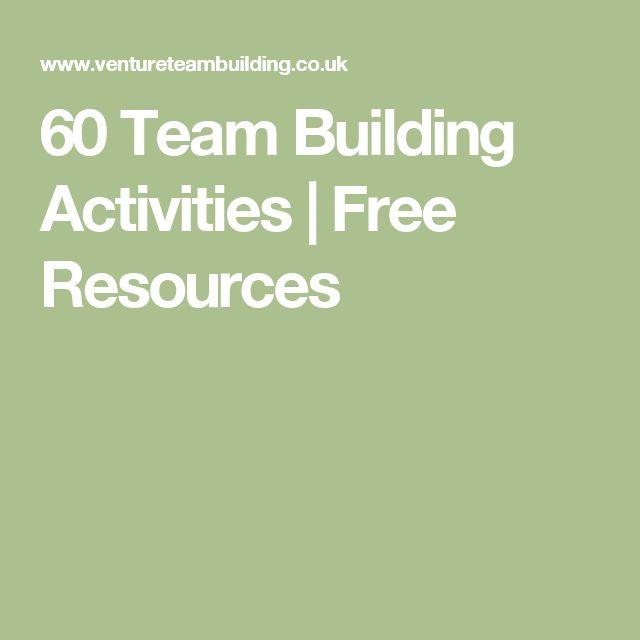 60 Team Building Activities | Free Resources