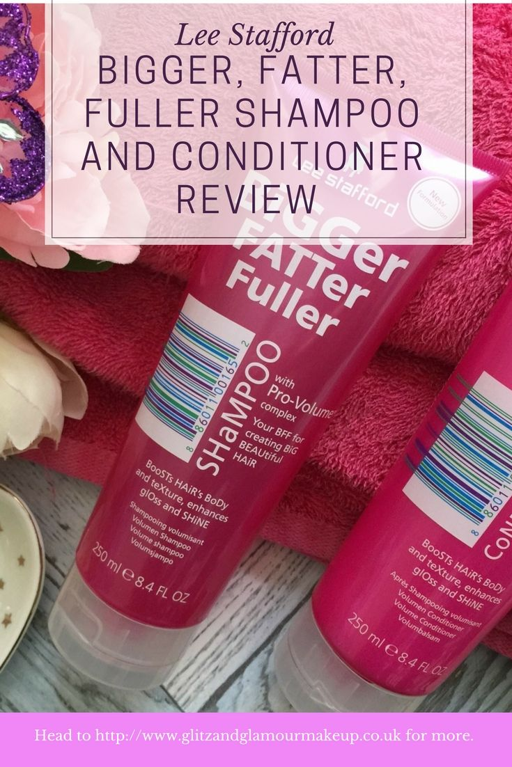 Are you looking for bigger, fatter, fuller hair? I recently tried out the Lee Stafford Bigger Fatter Fuller range which claims to give you extra volume and shine. So does it work? Read on to find out!