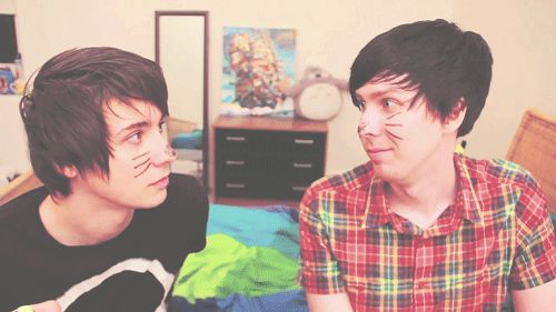 I've been obsessed with Dan and Phil lately... but I've also been VERY busy with the start of school and different things...I'm not leaving permanently but temporarily.