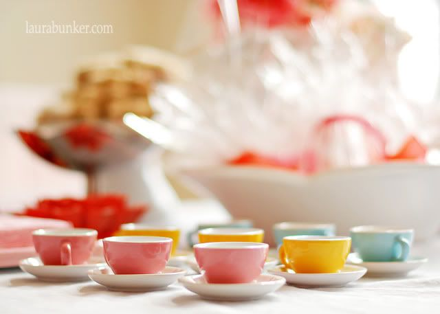 Tea cups from IKEA - perfect for a princess tea party @Kellie Harden