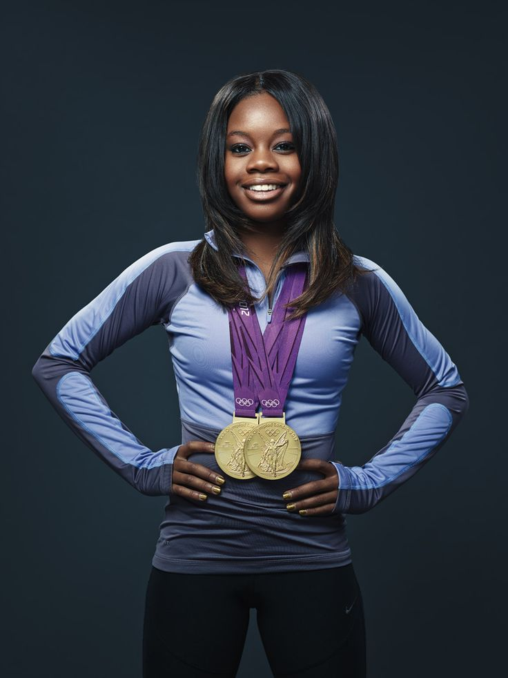 Two-time Olympic gold medalist Gabby Douglas.
