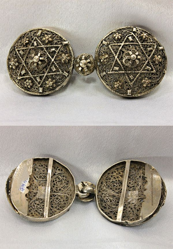 I love this circular style of Ottoman belt buckle...  Antique silver Ottoman belt buckle | 900$