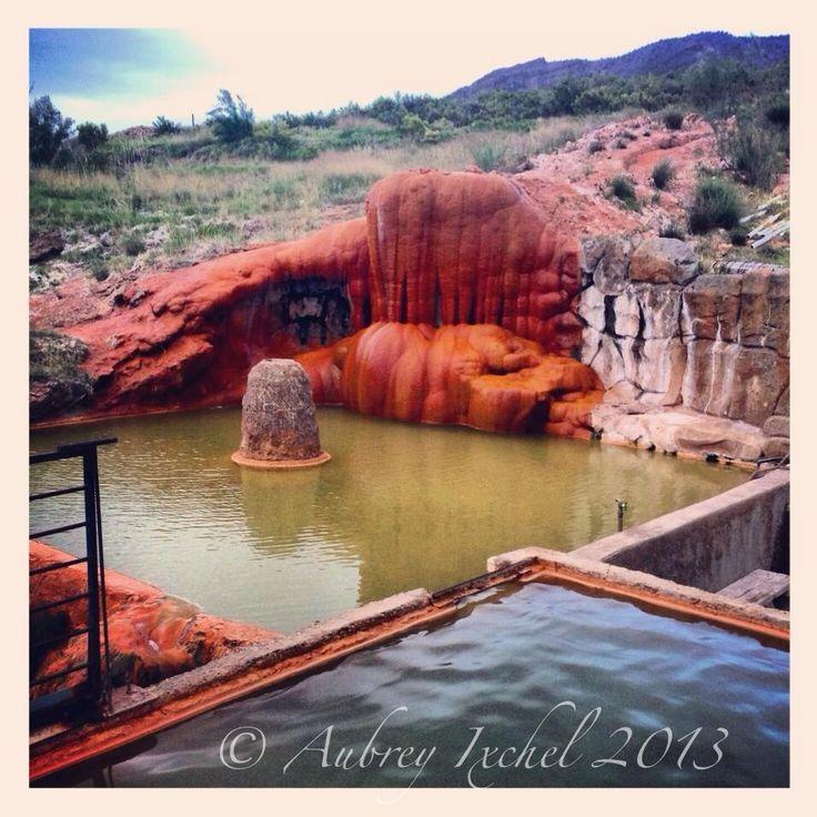 Mystic Hot Springs in Monroe, Utah.