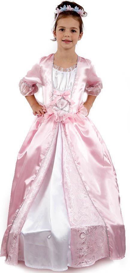 Une robe de princesse pour un Carnaval très charmant ! Le rêve des petites filles