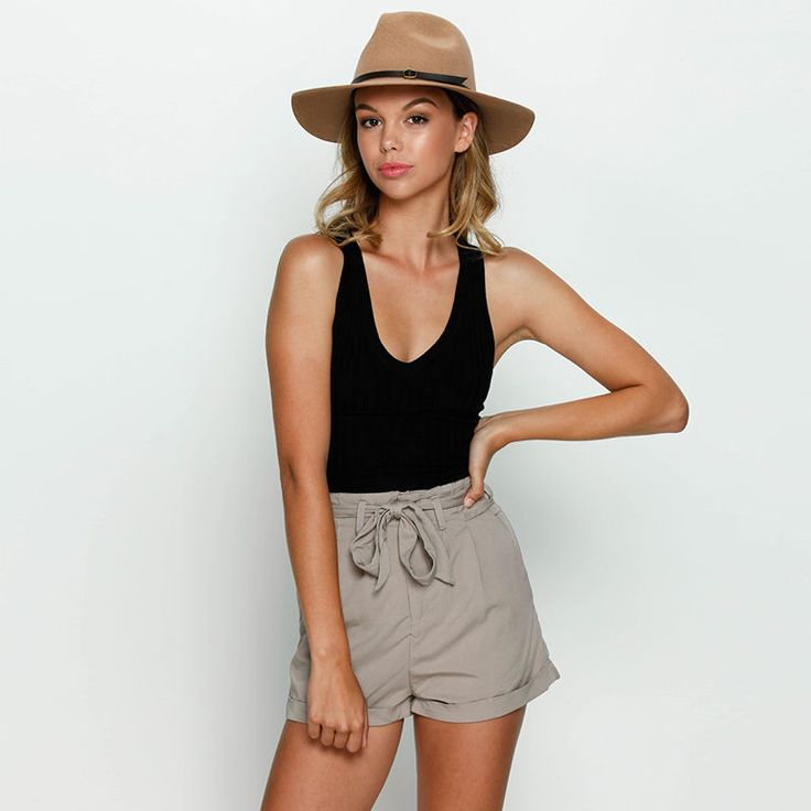 New Mooloola Pay Back Shorts in Brown | City Beach