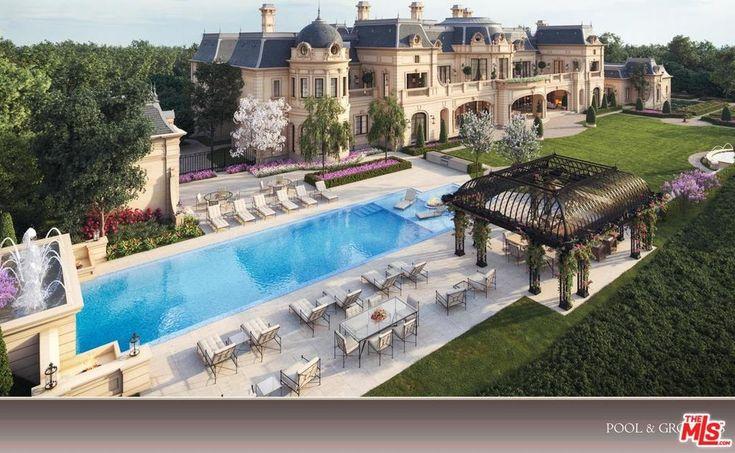 50 Beverly Park Way, Beverly Hills, CA 90210 Mansion designs - m bel f r kleine k chen