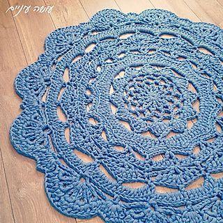 Snorka Doily Rug Pattern By Liat Bentov