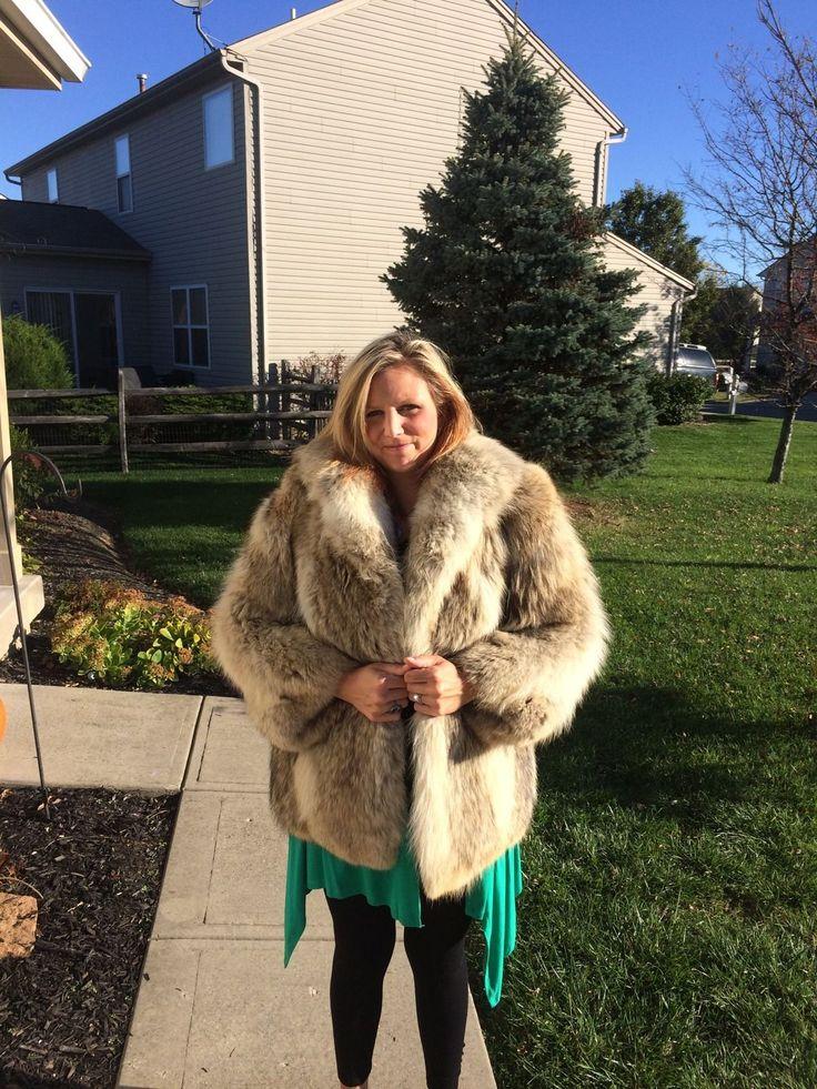 Coyote Fur Jacket Ebay Fur 10 Fur Jacket Fur Fur