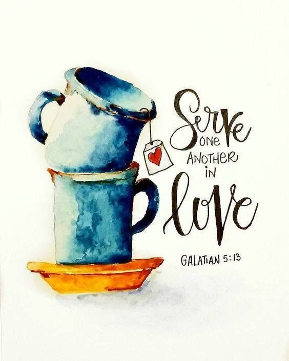 For you, brethren, have been called to liberty; only do not use liberty as an opportunity for the flesh, but through love serve one another. Galatians 5:13