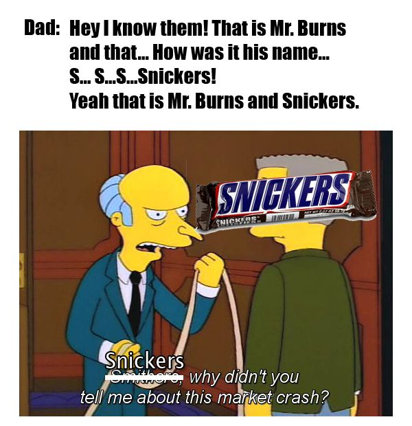 I was watching Simpsons when my father-in-law comes and totally killed it