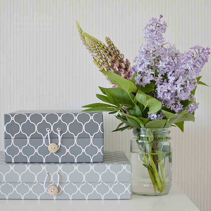 Lilacs and Lupines