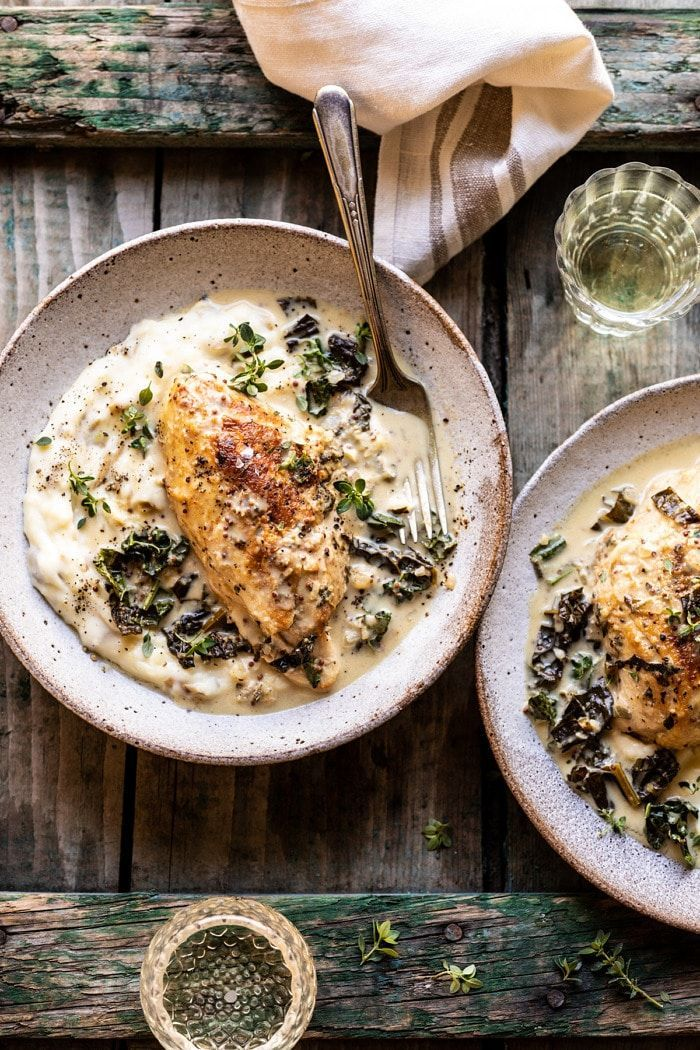 Slow Cooker French Wine and Mustard Chicken