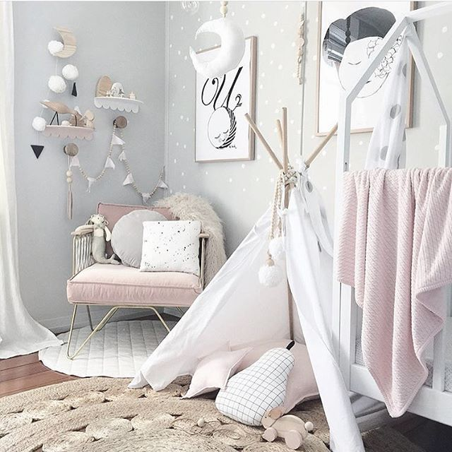 i am sure i have said this before...Marlowe is a lucky lucky girl to have this beautiful room 💗 image by super talented, equally gorgeous mumma @luxebabylove 😘😘 #inkibabinki #white #whiteinterior #minimalist #minimalistdesign #simplicity #nordic #nordicinspiration #scandinavian #scandinaviandesign #kidsinterior #childrensinteriors #kidsdecor #handmade #shopsmall #supportsmallbusiness #supportoriginaldesign