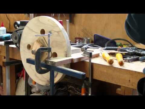 How To Make A Banding Wheel From Spare Parts - YouTube