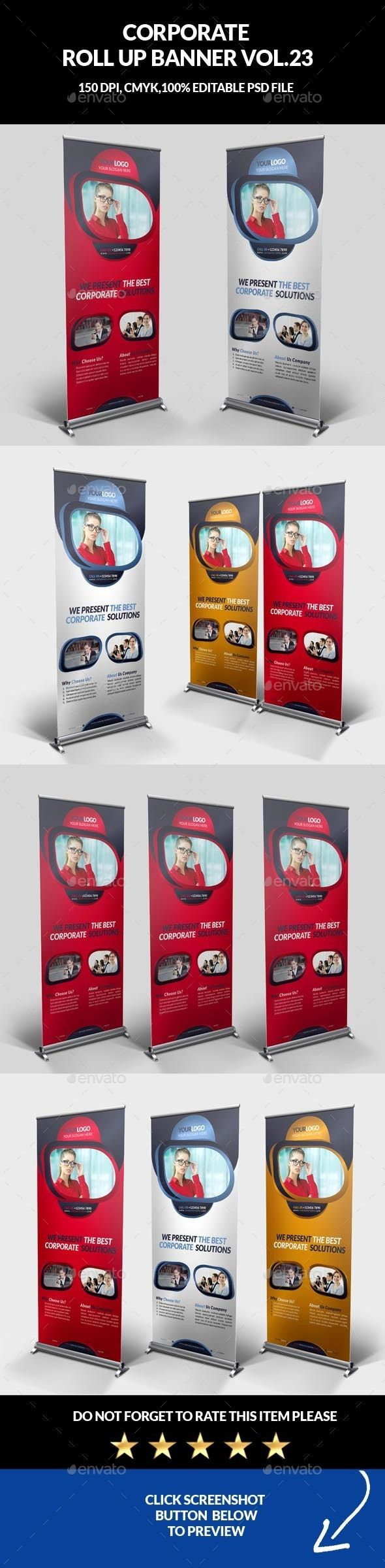 140 best Standee images on Pinterest | Banner template, Banner ...