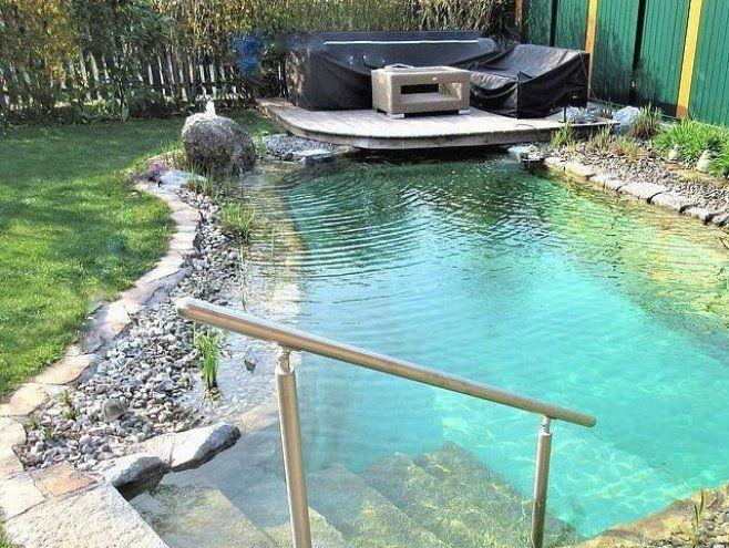Einstieg In Den Nano Wohlf Hlteich Garten Landschaftsbau Garten Landschaftsbau Swimming Pools Backyard Natural Swimming Pools Backyard Pool