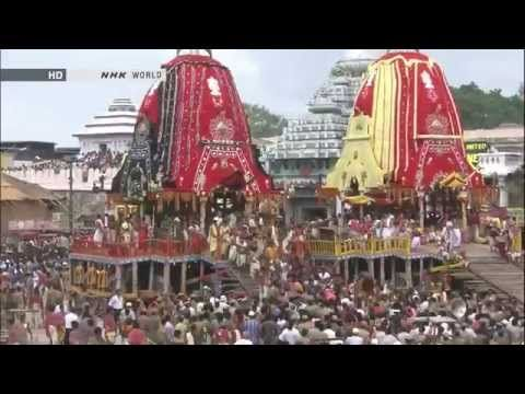 Jagannath Temple - Ratha Yatra (Chariot Festival) - Puri , India (Full HD) - YouTube