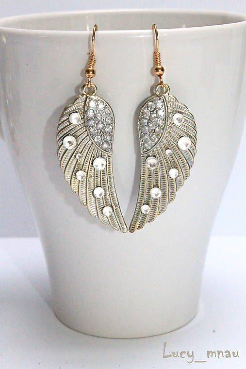 lucy_mnau / Anjelské krídla zlato-strieborné :)